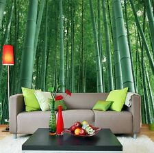 3D Bamboo Forest Wall Murals Wallpaper Decal Decor Home Kids Nursery Mural Home