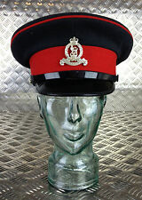 Genuine British Army Royals Officers Cap / Captains Hat with Badge - All sizes