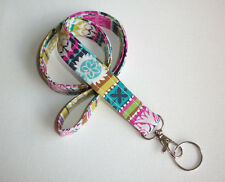 Fabric Lanyard / ID Badge Holder ---- New designs to CHOOSE FROM!!  nw111