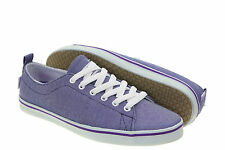 DVS Girl's Rehab Purple Canvas Plimsoles/ Trainers, Size 4.5, BNIB