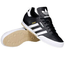 Adidas Originals Samba Super Suede Black/White Trainers Shoes Mens Samba UK