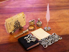 DOLLS HOUSE VICTORIAN  DESK ITEMS FREE POSTAGE ON EXTRA ITEM,S