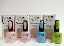 CND Creative Nail Shellac Gel Polish Spring 2013 Assorted Colors .25oz/7.3ml