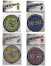 Mr Zoggs Sex Wax Surf Car Air Freshener Surfboard Van 4 Scents available coconut
