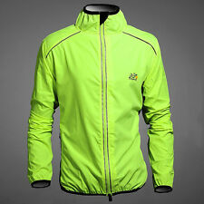 Profession Thermal Mens Sports Outdoor Protection Wind Coat Jacket Jersey XS~2XL