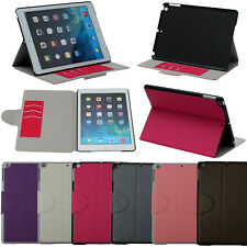 DISCOUNT!! 360 Deg Rotate Book Type Fold Case Cover For New Apple iPad Air 5 5th