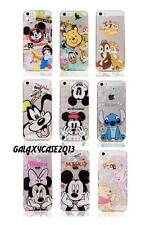 Disney Transparent Clear Dust Proof TPU Soft Back Rubber Case For iPhone 5 5S