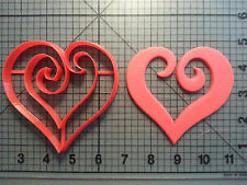 Heart Swirled Cookie Cutter