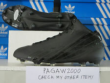 NEW ADIDAS Adizero 5-Star 2.0 Mid Mens Football Cleat Black/Black G65699 3 avail