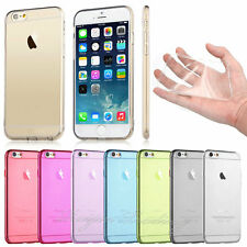 TPU Crystal Clear Soft Transparent Hard Case Cover for Apple iPhone 6 4.7""