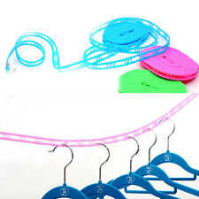 New Outdoor Windproof Travel Home Laundry Retractable ClothesLine Washing Line