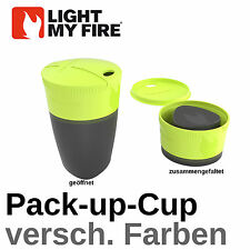 LIGHT MY FIRE- Bicchiere Tazza Pieghevole Bicchiere Outdoor Pack-up-Cup