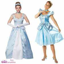 ADULT PRINCESS CINDERELLA SEXY CINDERS LADIES FANCY DRESS COSTUME STORY BOOK