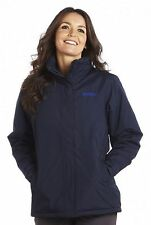 REGATTA LADIES KENDRA II WATERPROOF PADDED NAVY BLUE COAT JACKET OUTDOOR RWP166