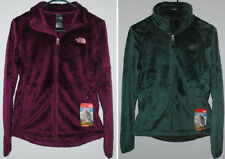 THE NORTH FACE OSITO 2 JACKET PARLOUR PURPLE MYRTLE GREEN SILKEN FLEECE NEW