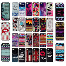 Fashion Colorful Painted Pattern Back Case Cover Protector For iPhone 4G 5G 6 6S