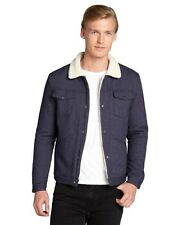 NEW Men's Slate and Stone Solid Navy Fulton Jacket in Sizes L and XL