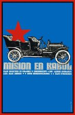 9174.Mision en kabul.soviet film.car with red star.POSTER.decor Home Office art