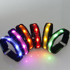 ON SALE*Safety Reflective Armband LED Lights Running Cycling Jogging Walking New