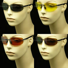 BIFOCAL READING SUNGLASSES GLASSES SAFETY NEW RIMLESS 1.50  2.00  2.50  3.00 MP7