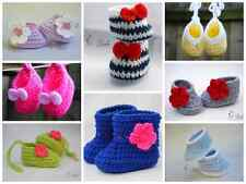 Hand Knited Cotton Crochet Baby Girl Laces booties shoes,gift,newborn,any size