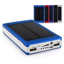BATERIA CARGADOR SOLAR PORTABLE POWER BANK 30000 mAh XPERIA Z2 L50W iPHONE 5S