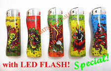 5/10/20/50 PCS FULL SIZE CIGARETTE LIGHTER ELECTRONIC REFILLABLE (NO DISPOSABLE)