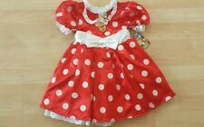 DISNEY GIRLS MINNIE MOUSE COSTUME SIZE 2-3, 4,5-6, 7-8, 10 -NEW