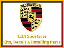 1:24 scale Porsche kits, detailing & decal sets to suit Tamiya Ebbro Fujimi etc