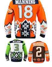 NFL Football Team Logo PLAYER Ugly Sweater - Pick Your Team/Player!