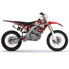 Honda 2015 Metal Mulisha Shroud Graphic Decals Wrap Kit Factory Effex Motocross