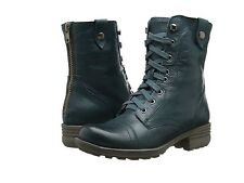 NEW- Cobb Hill BETHANY Leather Boots - Blue/Teal - CAK02BTL