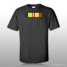 CAR Combat Action Service Ribbon T-Shirt Tee Shirt Free Sticker military army