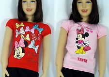 Disney Minnie Mouse T-Shirt Kurzarmshirt Gr.92,104,116,128