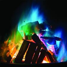 Mystical Fire Wood Burning Fire Novelty Flames Change Colour Magic Dust