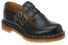 Dr. Martens Women's 8065 Casual Leather T Bar Mary Jane Shoes Black Smooth