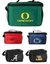 New 2014 NCAA College Licensed Lunch Bag -Insulated Box Tote - 6 Pack Cooler