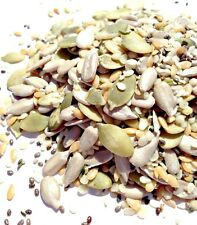 Six Seed Super Blend - Organic Chia Hemp Flax Sesame Pumpkin Sunflower Seeds