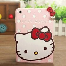 Cartoon Hello Kitty Soft Silicone Cover Case For iPad Mini 123 Air Galaxy Tab 3