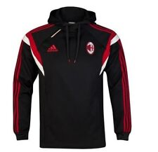 ADIDAS AC MILAN TRAINING HOODY SWEATER 2014/15 MENS 100% AUTHENTIC