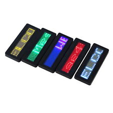Digital Display Electronic LED Name Scrolling Badge Identity Message Gadget GT