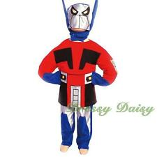 Transformers Halloween Fancy Party Costume Outfit Kid Boy Size 3 4 5 6 7  #009