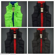 HOLLISTER MEN'S BLUEBIRD WINTER QUILTED PARKA VEST/JACKET OUTERWEAR [BNWT]