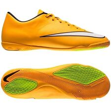 Nike Mercurial Victory IV IC Indoor Soccer SHOES 2014 L. Orange New KIDS YOUTH