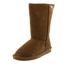 """YOUTH BEARPAW EMMA TALL 9"""" 618Y HICKORY II SUEDE WINTER BOOTS"""