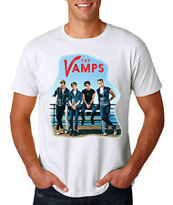 THE VAMPS T-SHIRT GILDAN  DYE SUBLIMATION PRINTED