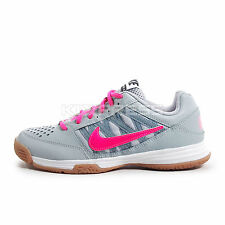 WMNS Nike Nike Court Shuttle V [525765-060] Badminton Volleyball Gray/Pink