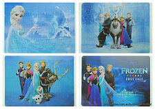 FROZEN New Puzzles Great fun for kids 4 designs 28cm x 21cm Great price