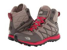 The North Face $150 Arctic Guide Womens Snow Boots Shoes Khaki Red Winter Cold