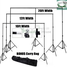 Pro Photography Heavy Duty Backdrop Background Support Stand for Studio Lighting